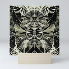 Sgraffito Contours Mini Art Print