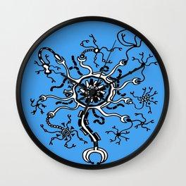 Digital Neurone Wall Clock