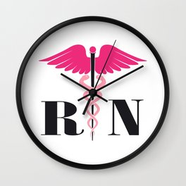 Registered Nurse RN Gift Wall Clock