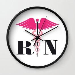 Registered Nurse RN Gift Wall Clock