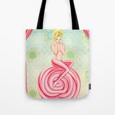 Lollipop Girl Tote Bag