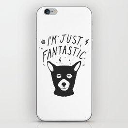 I'm Just Fantastic iPhone Skin