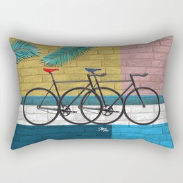 bicycle in composition Rectangular Pillow