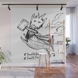 DoodleThor, Goat of Thunder Wall Mural