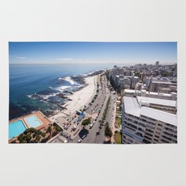 Sea Point In Cape Town South Africa Rug
