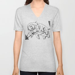 Water Bear Unisex V-Neck