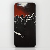 it crowd iPhone & iPod Skins featuring Crowd by Shelley Chandelier
