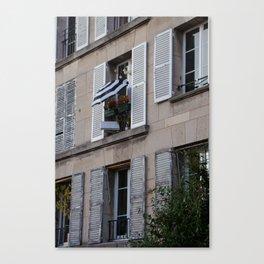 Parisian Awning Canvas Print
