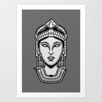 egyptian Art Prints featuring Egyptian by AhamSandwich