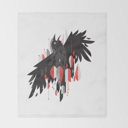 Crow Escape Throw Blanket