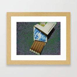 Pen Sketch Framed Art Print