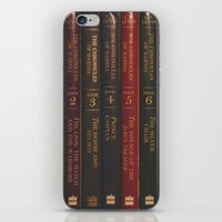 narnia iPhone & iPod Skins featuring A Narnia Journey by Shawn King