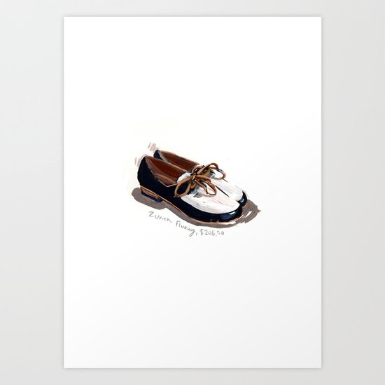 Fluevog Loafers Art Print