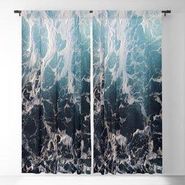 Blue Wave Surf Blackout Curtain