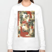 moulin rouge Long Sleeve T-shirts featuring Rouge by MelissaBeaulieu