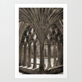 Canterbury Cathedral - England Art Print