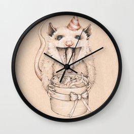 Birthday Possum's Favorite Gift Wall Clock