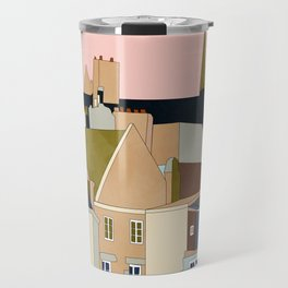 france brittany houses shape art Travel Mug