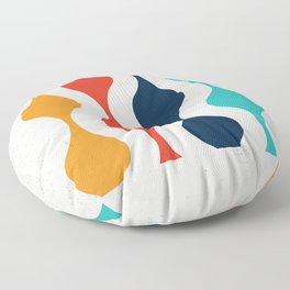 Retro Pop Art Floor Pillow