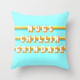 Encino Man (Rule of Threes) Throw Pillow