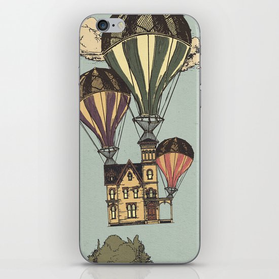 Steam UP iPhone & iPod Skin