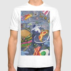 Astro Cravings Mens Fitted Tee White MEDIUM