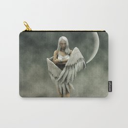 White divine angel Carry-All Pouch