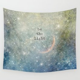 be the light Wall Tapestry
