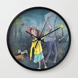 Children's Illustration Wall Clock