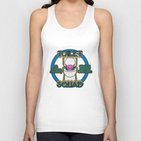 toilet Tank Tops featuring Toilet Squad by Justin Kedl