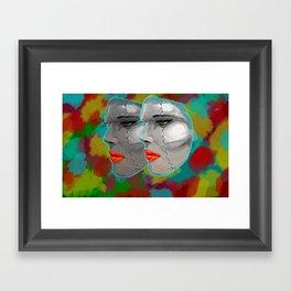 Miss BIOS Framed Art Print
