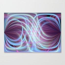 Lightlines softly Canvas Print