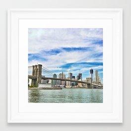 POSTCARD MATERIAL Framed Art Print
