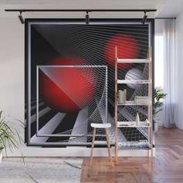liking geometry -4- Wall Mural