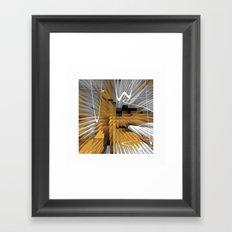 Retro Revival Framed Art Print