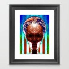 EXOPOLITICS Framed Art Print