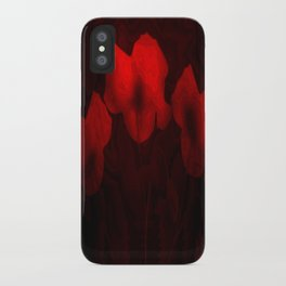 Poppies aglow iPhone Case