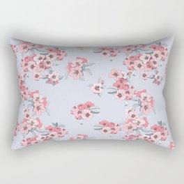 Apple blossom pattern Rectangular Pillow