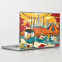 thailand Laptop & iPad Skins featuring Bangkok, Thailand by Sam Brewster