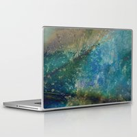 batik Laptop & iPad Skins featuring Oceana Batik by GypsyBohemian