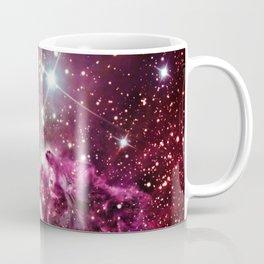 Fox Fur Nebula Burgundy Magenta Coffee Mug