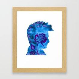 Ten & Rose Framed Art Print