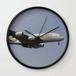 Emirates A380 Airbus Wall Clock