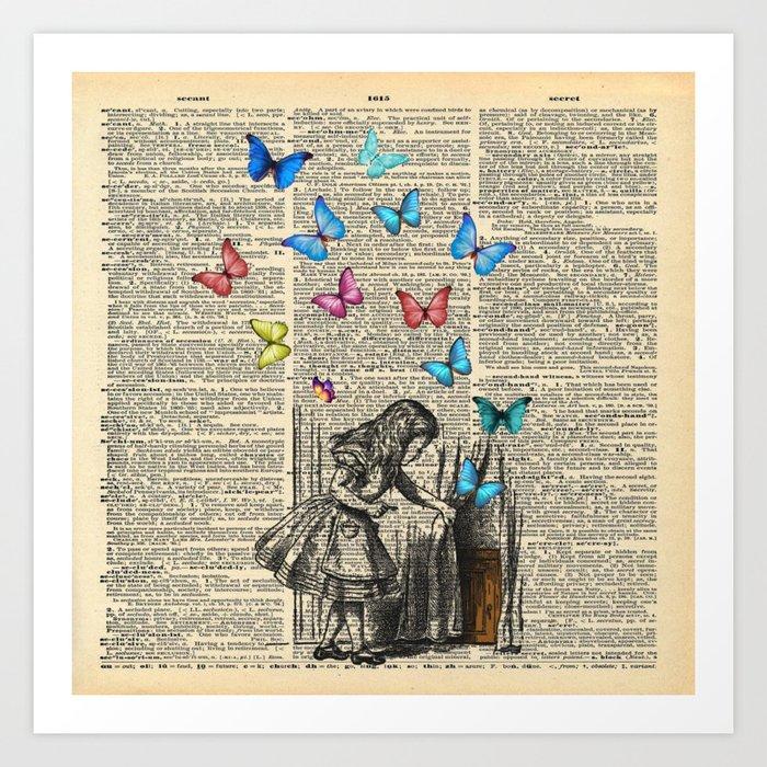 Alice In Wonderland - Let The Adventure Begin Kunstdrucke