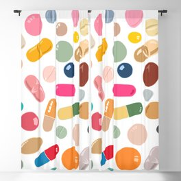 Sunny Pills Blackout Curtain