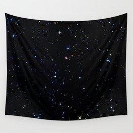 Rainbow Constellations Wall Tapestry