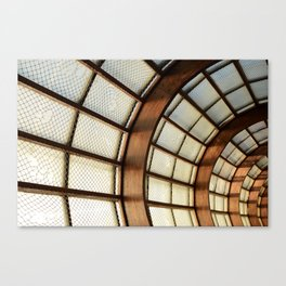 Wooden Beams Canvas Print