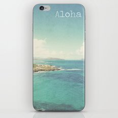 Aloha iPhone & iPod Skin