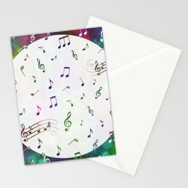 Music Multi 1 Stationery Cards