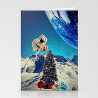 christmas tree Stationery Cards featuring Christmas Tree by Cs025